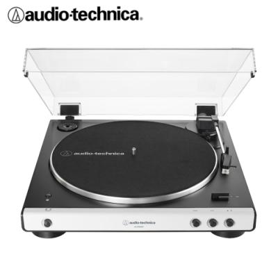 AT-LP60XBT 全自動藍牙立體聲黑膠唱盤(白色)