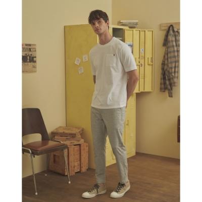 CACO-麻花質感八分褲(二色)-男【A1AR053】