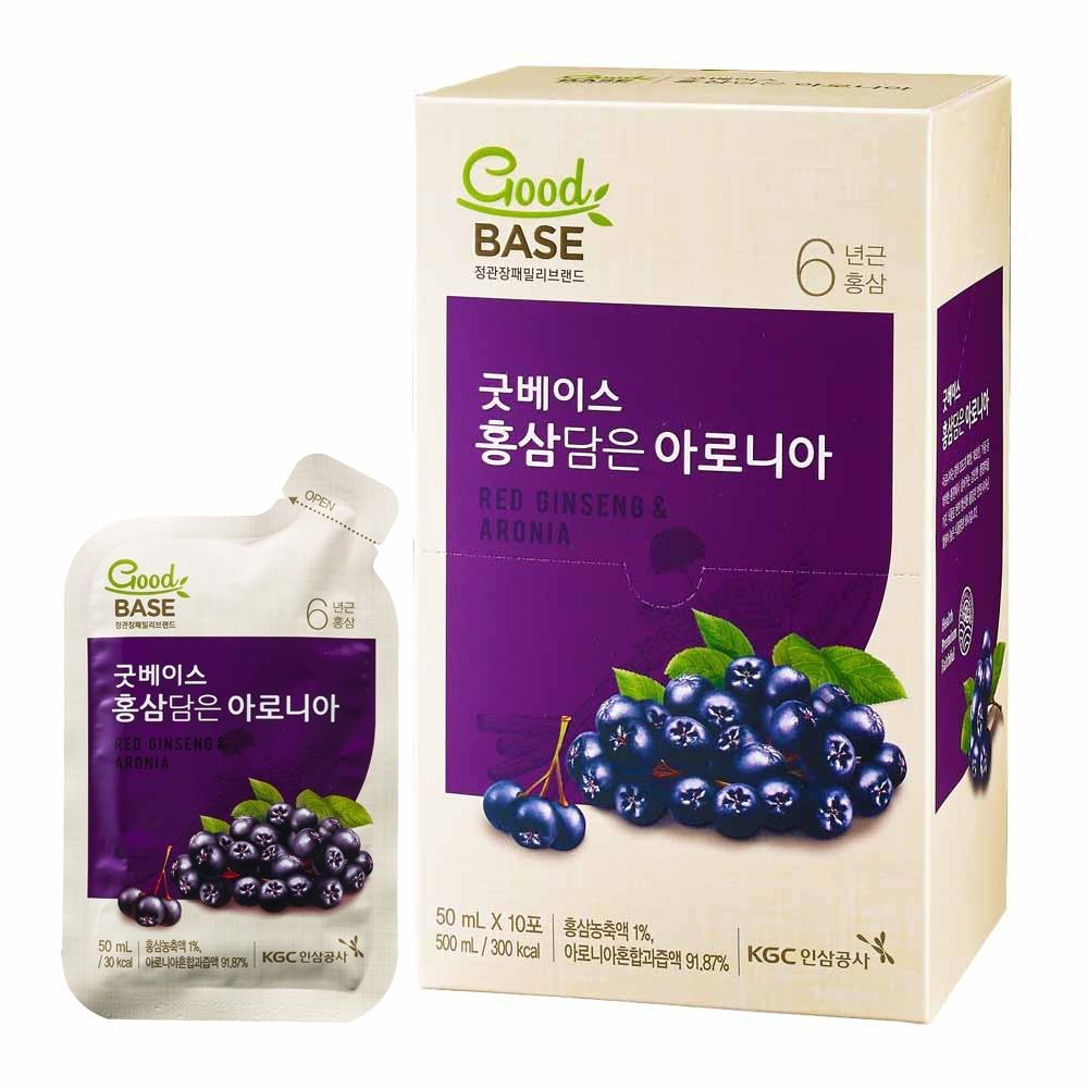 【正官庄】高麗蔘野櫻莓飲(50mlX10入/盒)