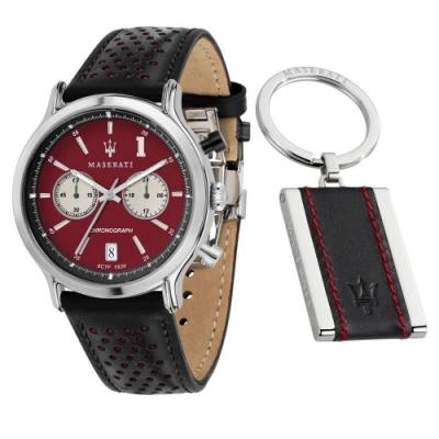 MASERATI 瑪莎拉蒂 POCA RACING計時皮帶腕錶42mm(R8871638002)