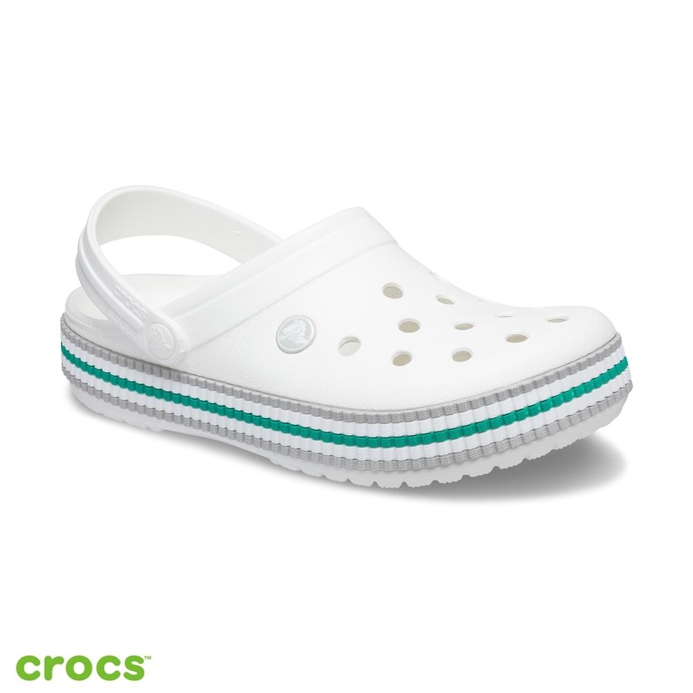 Crocs卡駱馳(中性鞋)-校園風卡駱班克駱格-206829-100
