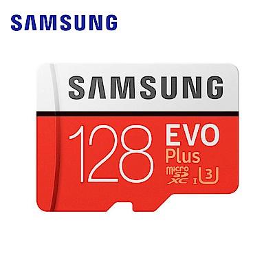 三星Samsung EVO Plus microSDXC 128GB 高速記憶卡公司貨