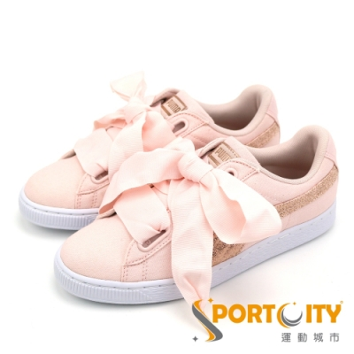 PUMA Basket Heart Canvas 女鞋
