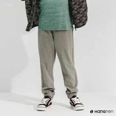 Hang Ten-男童-恆溫多功能-REGULAR FIT標準四向彈力吸濕快乾抗曬運動長褲-灰色