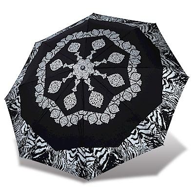 RAINSTORY 摩洛哥抗UV雙人自動傘(黑)