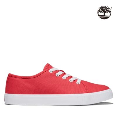 Timberland 女款蕃茄紅Skyla Bay帆布鞋|A2GUA