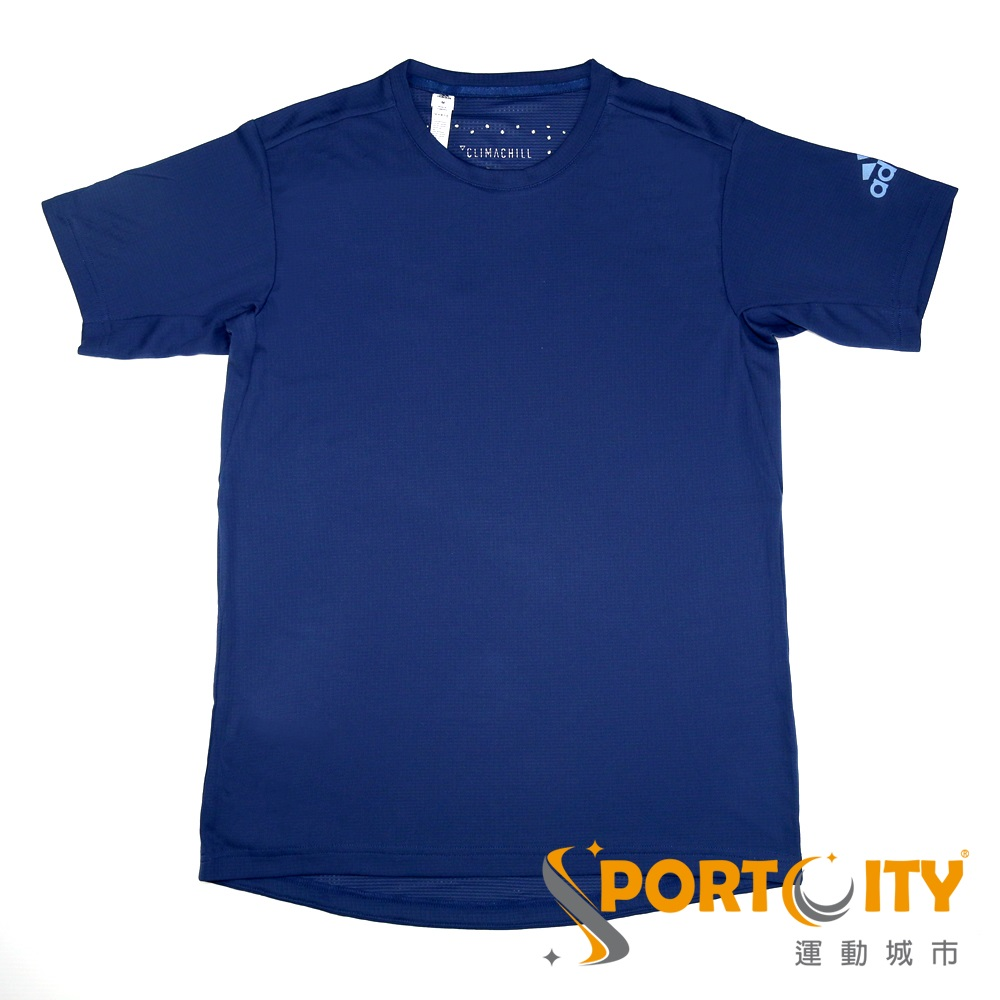 ADIDAS 男短袖上衣 CE0816-深藍