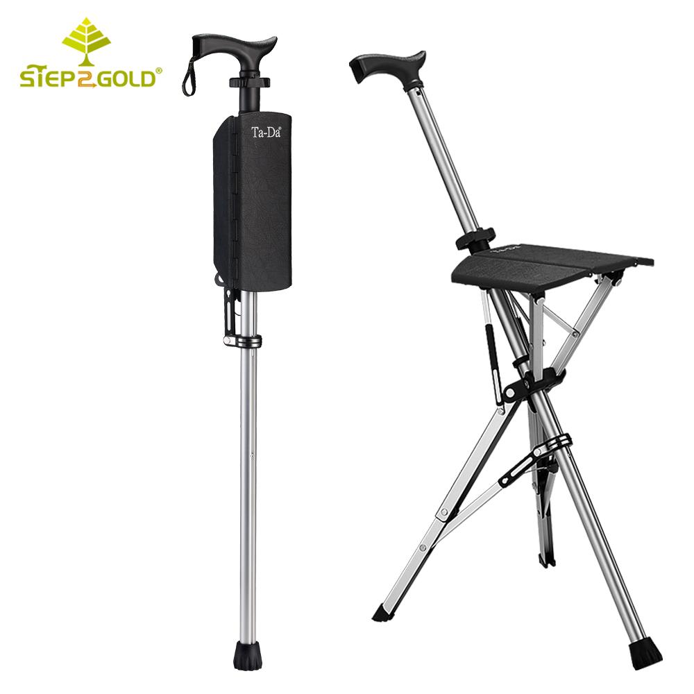 Step2Gold TA-DA泰達自動手杖椅