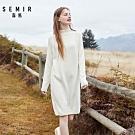 韓系顯瘦針織洋裝-女