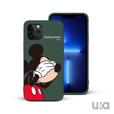 UKA 優加 iPhone 13 Pro 6.1吋 迪士尼系列液態矽膠保護殼(4款)