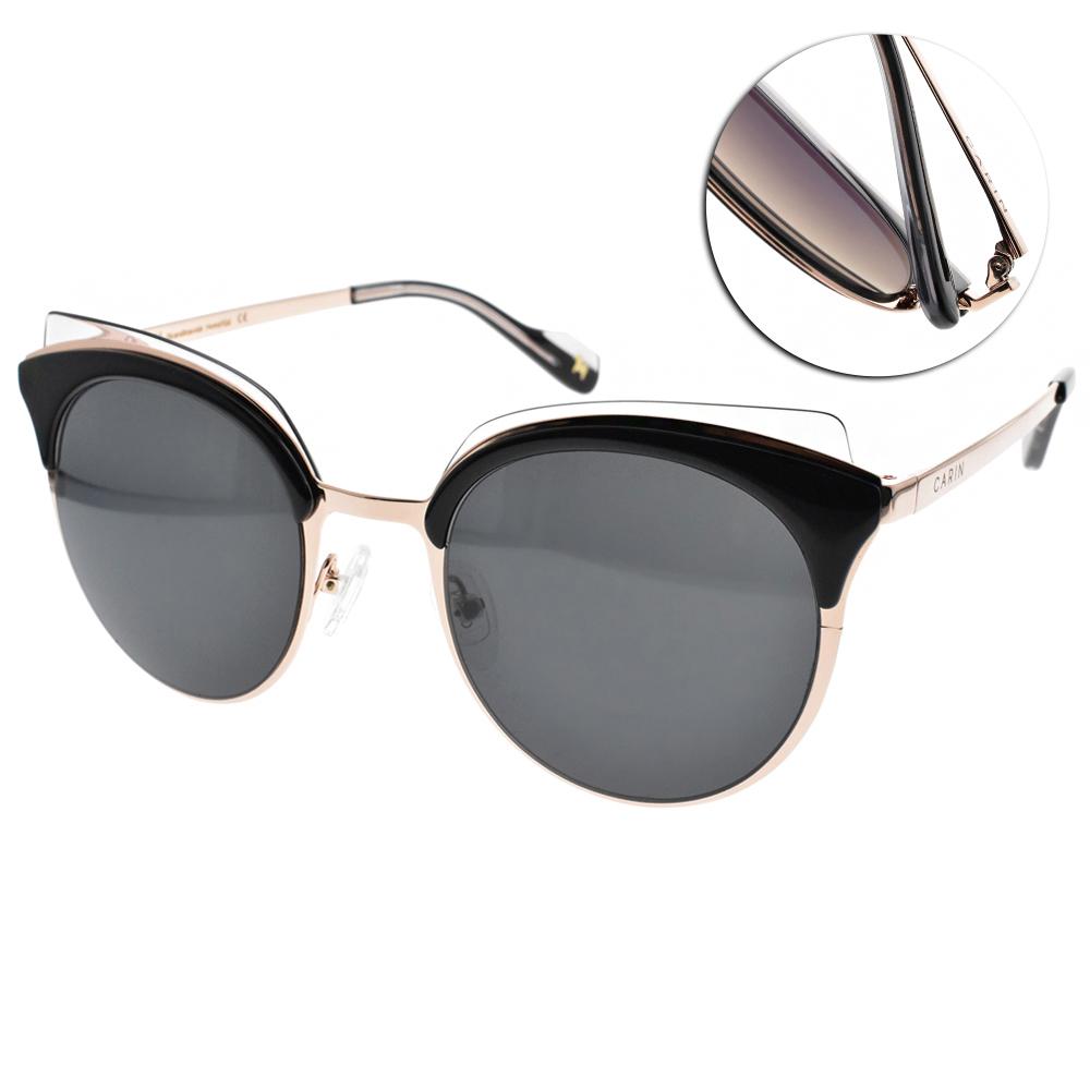 CARIN太陽眼鏡 秀智代言 魅力貓眼款/黑金 #RIMPTON C1