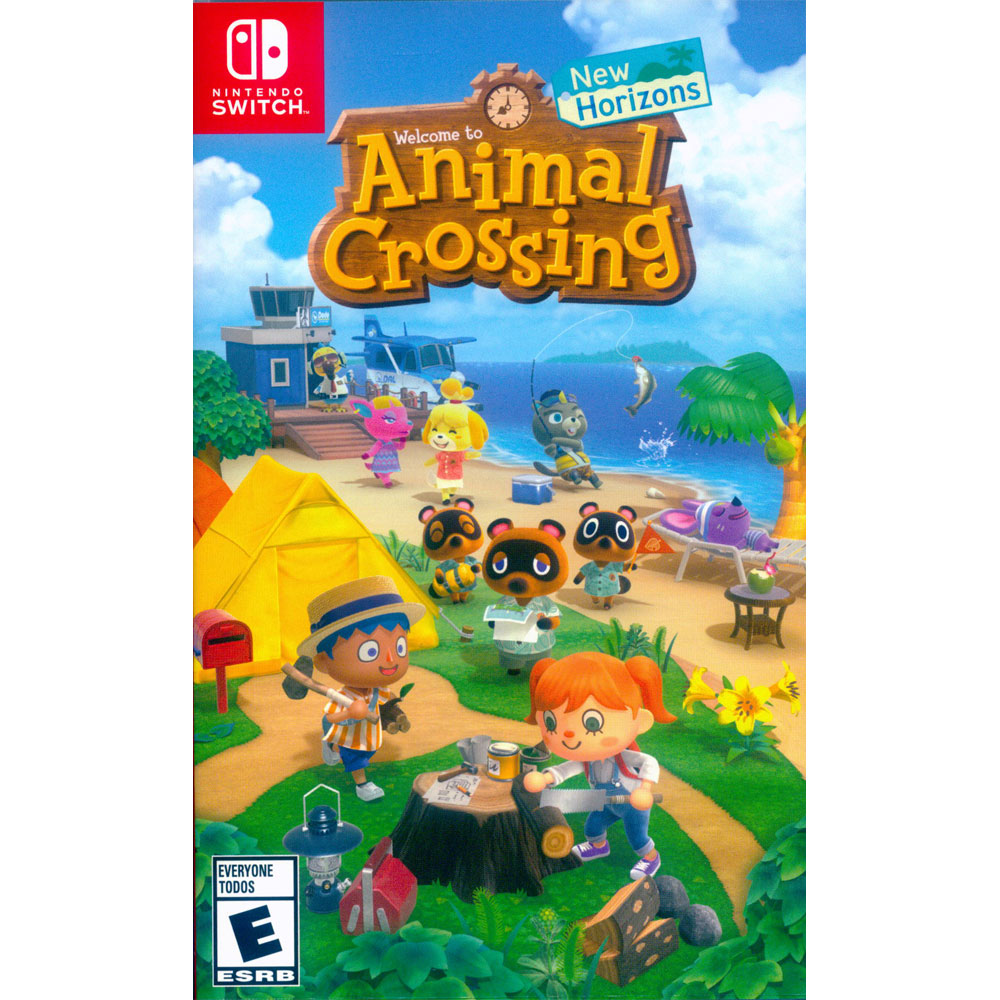 集合啦!動物森友會 Animal Crossing: New Horizons - NS Switch 中英日文美版