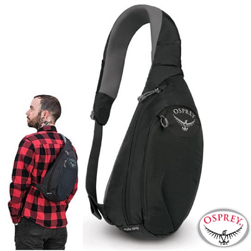 美國 OSPREY Daylite Sling 6L 輕量多功能休閒單肩背包_黑 R