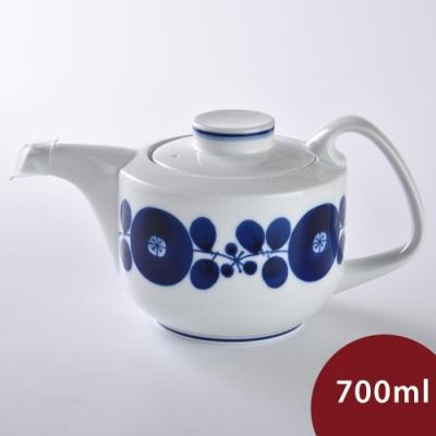 日本 Hakusan  BLOOM 茶壺 花圈 700ml
