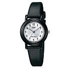 CASIO 簡單實用小錶面指針錶-銀面x數字黑(LQ-139AMV-7B3)