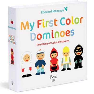 My First Color Dominoes 我的第一本彩色骨牌遊戲紙卡書