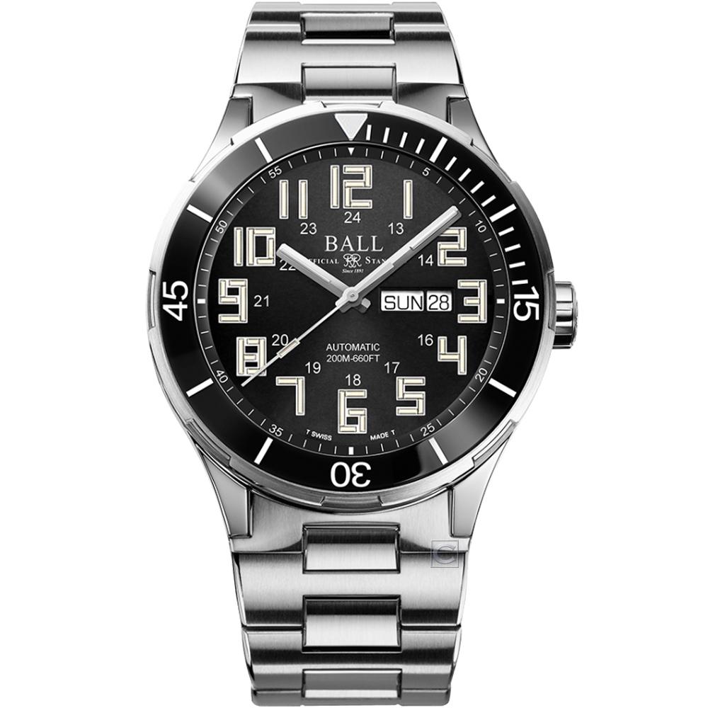 BALL WATCH Roadmaster StarLight Ceramic 天文台認證機械腕錶(DM3050B-S10C-BK)-43mm