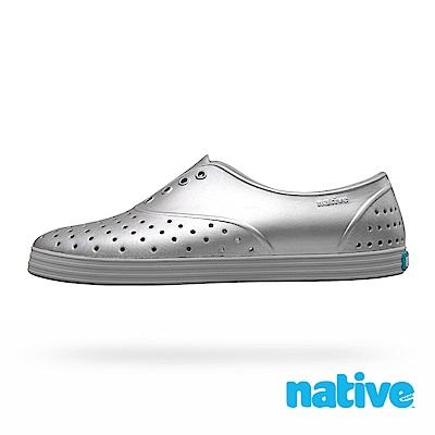 native JERICHO METALLIC 女鞋-未來銀