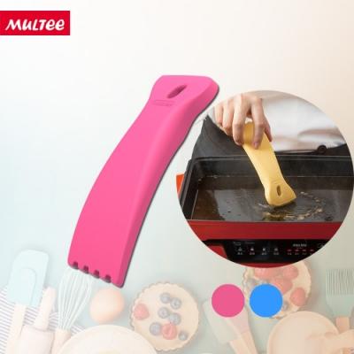 MULTEE摩堤 烹飪工具組 不傷鍋清潔刮刀 (愛戀桃/宇宙藍)