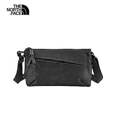 The North Face北面男女款黑色休閒單肩背包|3KWUKX7