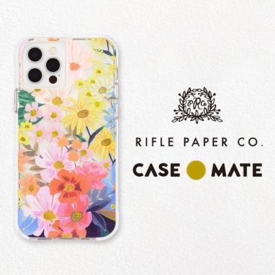 美國 Rifle Paper Co. x CM 限量聯名款 iPhone 12/12 Pro 抗菌防摔殼 - 瑪格麗特