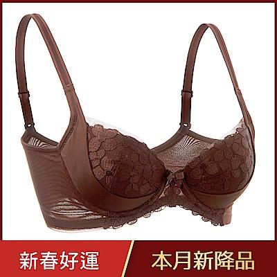 黛安芬-輕塑美型系列 B-E罩杯內衣 可可棕