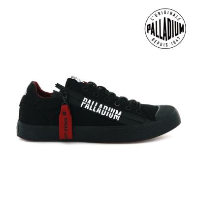 PALLADIUM PALLAPHOENIX UNZIPPED拉鍊帆布鞋-中性-黑