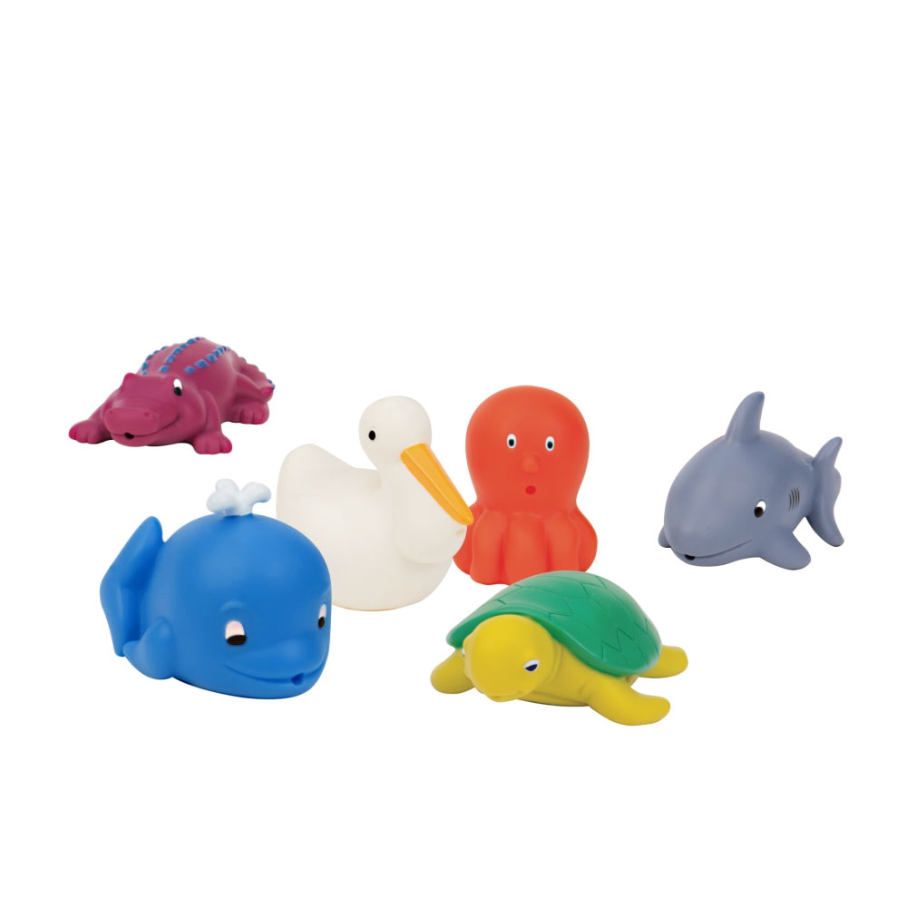 美國【Battat】洗澡玩具-恐龍