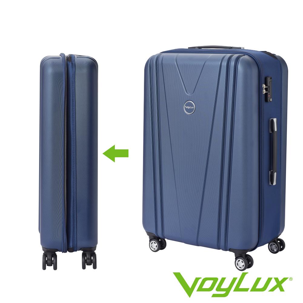 VoyLux伯勒仕-VITALITY系列V型29吋硬殼收摺旅行箱-藍色 3788920