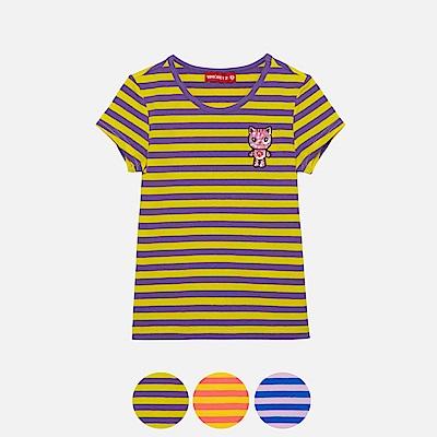WHY AND 1/2 合身版棉質萊卡T恤 5Y~10Y 多色可選