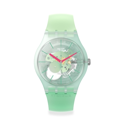 SWATCH New Gent 原創系列手錶MUTED GREEN(41mm)