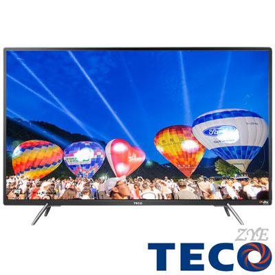 [無卡分期-12期]TECO東元 43吋 FHD低藍光液晶顯示器+視訊盒TL43A3TRE