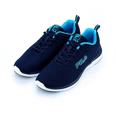 FILA 男慢跑鞋-丈青 1-J201S-331