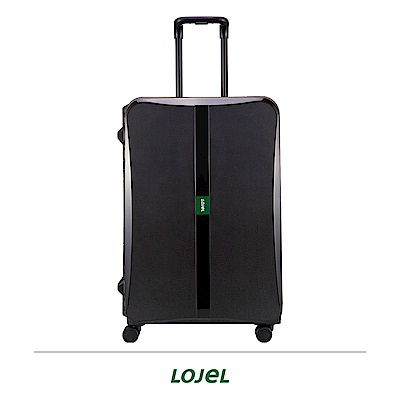 LOJEL OCTA2 30吋拉桿箱 黑色 PP材質 框架 密碼扣鎖