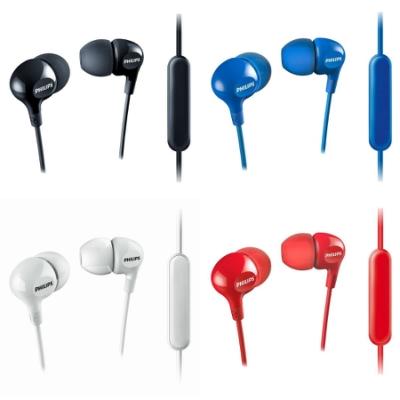 PHILIPS 手機用耳道式耳麥 SHE3555 送4.8吋運動臂套