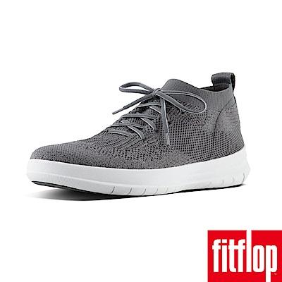 FitFlop UBERKNIT HIGH TOP SNEAKER-炭灰