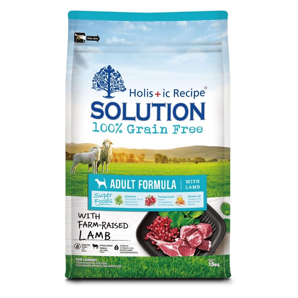 耐吉斯 超級無穀系列-紐澳放牧羊肉配方成犬飼料7.5kg