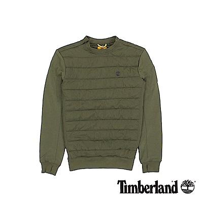 Timberland 男款深橄欖綠SLS鋪棉套衫 | A1L9VH08