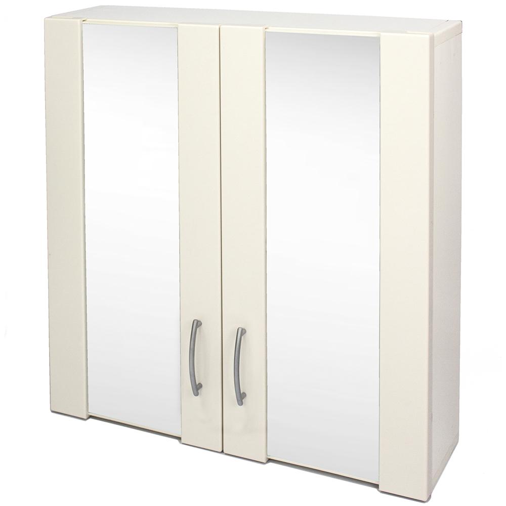 Aaronation 安全防爆玻璃浴鏡/雙門鏡櫃 GU-C1021-WB