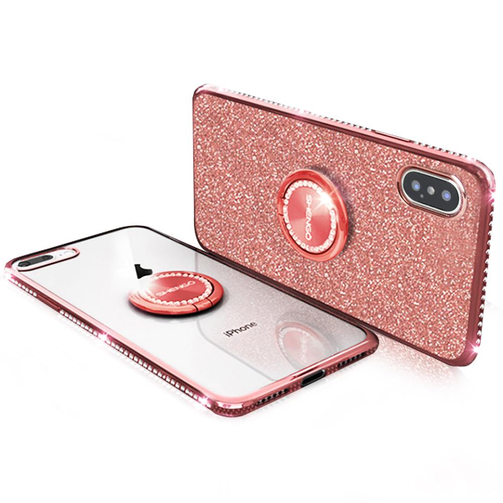 iStyle iPhone X/XS 5.8吋 輕奢鑽石手機殼 @ Y!購物
