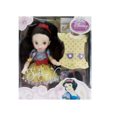 迪士尼 4吋迷你白雪公主 snow white
