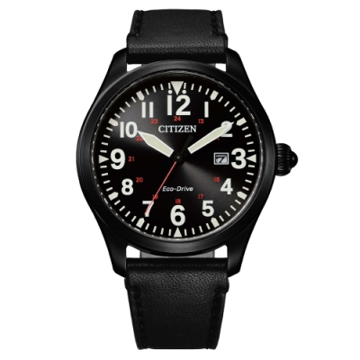 CITIZEN GENT S光動能震撼時尚腕錶-黑(BM6835-23E)42mm