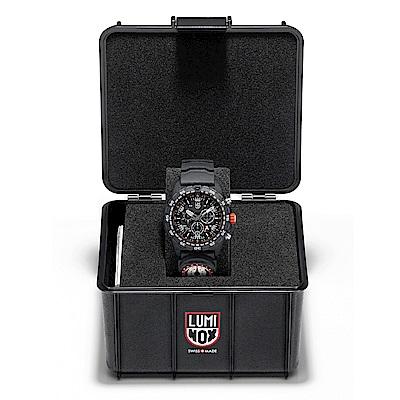 LUMINOX 雷明時Bear Grylls Survival 貝爾求生系列計時腕錶 A3741