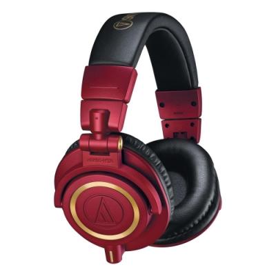 鐵三角 ATH-M50xRD 紅金色 限定版 專業監聽耳機