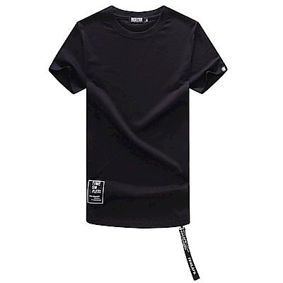 BuyGlasses 側邊拉鍊下攞圓弧短袖上衣