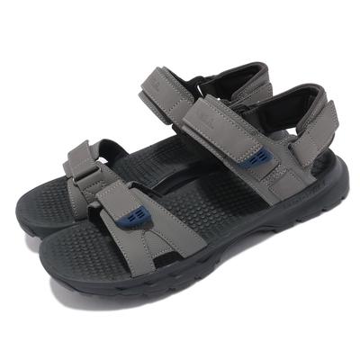 Merrell 涼鞋 Cedrus Convert 3 男鞋 緩衝 舒適 避震墊片 耐磨抓地 灰 藍 ML036179