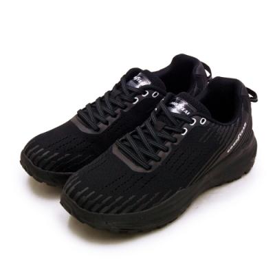 GOODYEAR 專業輕量動能緩震慢跑鞋 K4-ENERGY系列 黑灰 03220