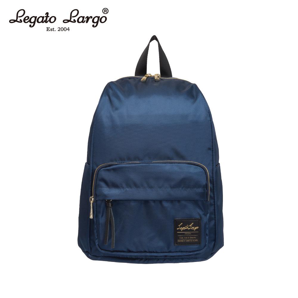 Legato Largo 防潑水簡約後背包-深藍 LT-C2151NV