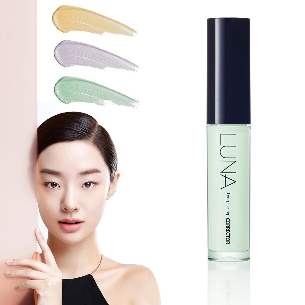 韓國LUNA 修容提亮遮瑕膏4.5g-淺綠色(泛紅肌膚適用)