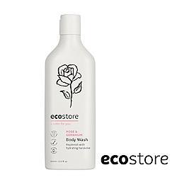 ecostore 純淨沐浴露-玫瑰天竺葵 400ml